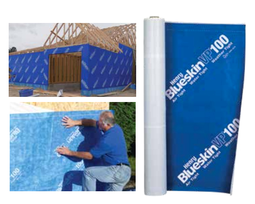Air Barrier Membrane : Blueskin vp self adhered water resistive air barrier