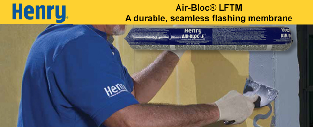Henry Air Bloc Liquid Flashing