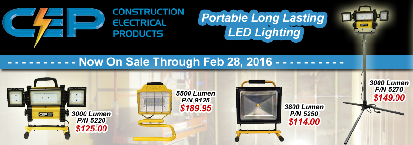 CEP LED Portable Lights