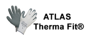 Atlas Therma Fit Gloves Logo