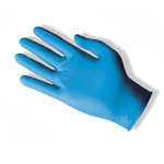 Ansell TNT Blue Lightly Powdered Disposable Nitrile Gloves