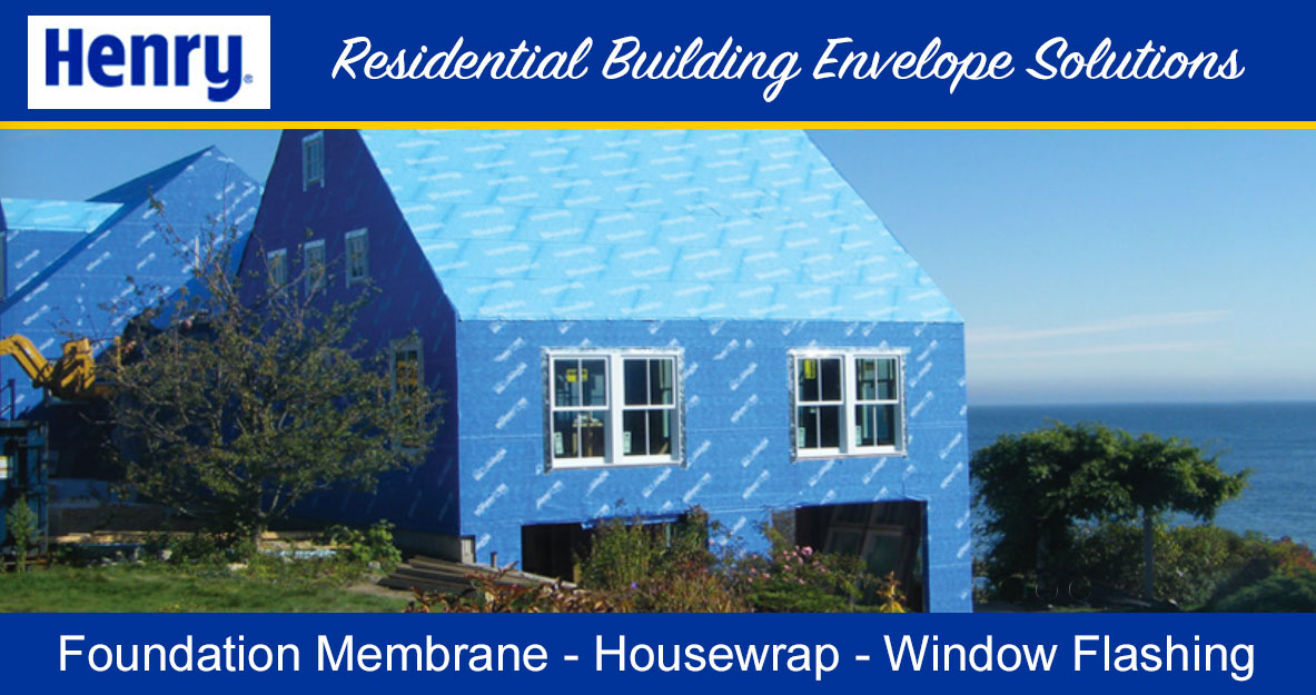 Henry Residential Envelope Solutions