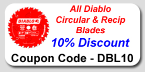 Diablo Circular and Reciprocating Blades Savings Coupon