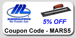 Marshalltown Concrete Tools Savings Coupon