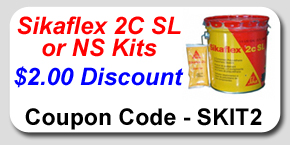 Sikaflex 2C SL and 2C NS kit Savings Coupon