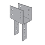 Simpson Strong-Tie CC Column Caps with SDS Screws
