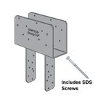 Simpson Strong-Tie CCQ Column Caps with SDS Screws