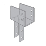 Simpson Strong-Tie ECC Column Caps with SDS Screws