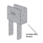 Simpson Strong-Tie ECCQ Column Caps with SDS Screws