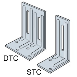 DTC/STC Roof Truss Clips