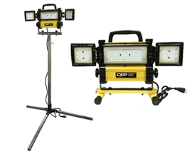 CEP 5270 LED 3000 Lumen Panel Light with Wings and adjustable tripod