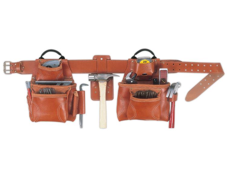 CLC 21448 Leather Tool Bag Set