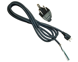 9 x 16/3 Power Supply Cord with U-Ground Plug