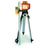 PLS HR1000 Horizontal Rotary Laser Kit
