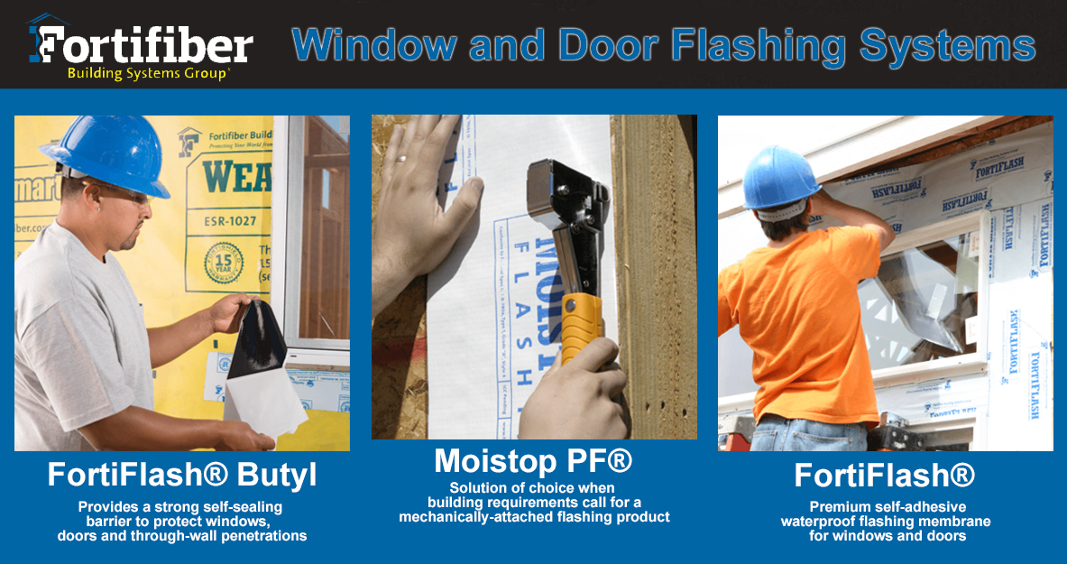 Fortifiber Flashing Systems