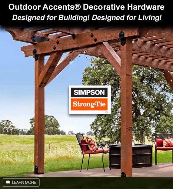 Simpson Strong Tie Outdoor Accent Decorative Hardware