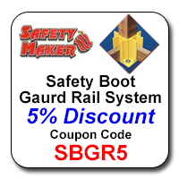 Safety Boot Guard Rail System