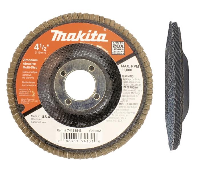 """115mm 20 x discs angle grinder 60/"""" grit 4,5 tv grinding ponç"""