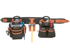 CLC 51452 4 Piece Pro-Framers Combo Tool Bag Set