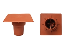 Grip Rite OSHA Square Rebar Caps - Orange