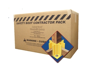 Safety Boot Guardrail System Bulk Pack of 24