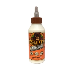 Gorilla White Wood Glue, 8oz Bottle