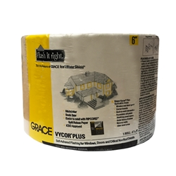 "Grace Vycor Plus 6"" x 75 Self-Adhered Flashing"