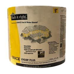 "Grace Vycor 9"" x 75 Plus Self-Adhered Flashing"