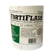 "9"" x 75' Butyl FortiFlash Flashing Membrane"