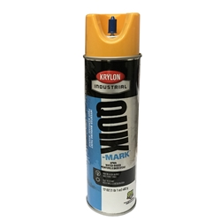 Quik-Mark Inverted Hi Vis Yellow Paint 17 oz