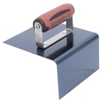 "Marshalltown 175BD 6"" X 6"" X 3"" Outside Blue Steel Step Tool-1/2"" Radius"