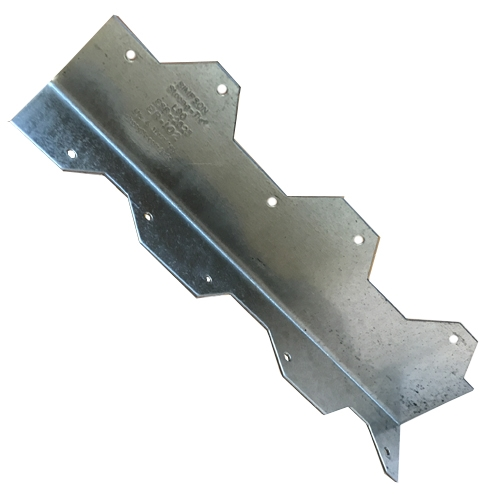 """Pack 10 Simpson Strong-Tie 8/""""x 8/""""x 2/"""" Galvanized Steel 12 ga Reinforcing Angle"""