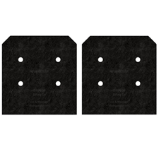 Simpson Strong-Tie APVB1010DSP Outdoor Accent Side Plates