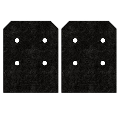 Simpson Strong-Tie APVB88DSP Avant Outdoor Accent Side Plates